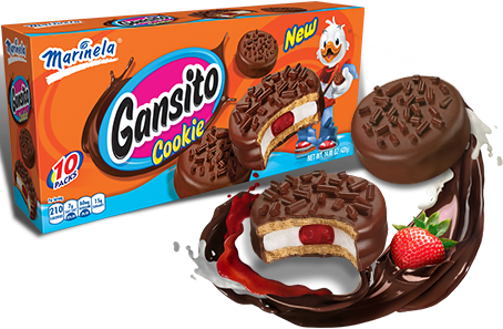 Pastel De Gansito Marinela